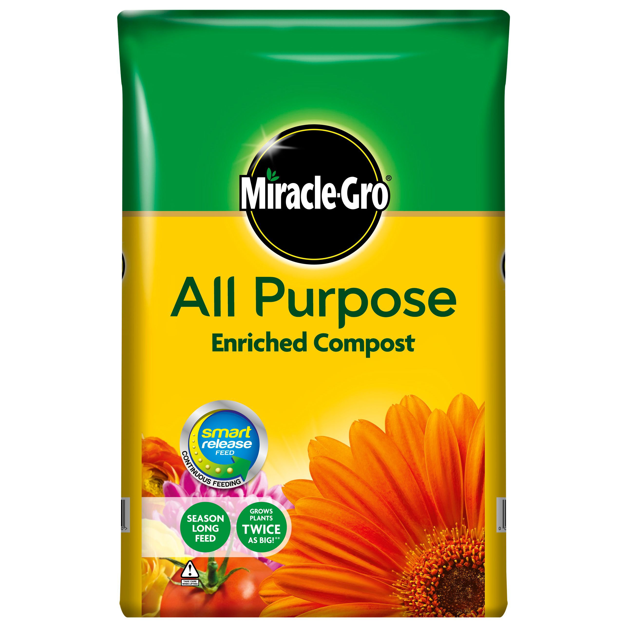 Image for westland multi purpose compost with john innes 50l from - Miracle Gro Multi Purpose Compost 50l W 16 3kg