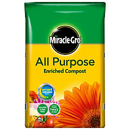 Miracle Gro Enriched Multipurpose Compost 50L