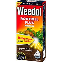 Weedol Rootkill Plus Concentrate Weed Killer 500ml