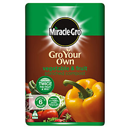Miracle Gro Fruit & Vegetable Compost 50L
