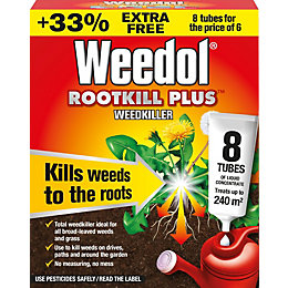 Weedol Rootkill Plus Concentrate Weed Killer, Pack of