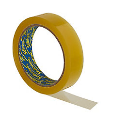 Sellotape Yellow General Purpose Tape (L)50M (W)24mm