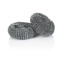 Minky Zinc Jumbo Metal Scourer, Pack of 2