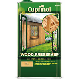 Cuprinol Clear Wood Preserver 5L