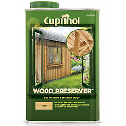 Cuprinol Clear Wood Preserver 1L