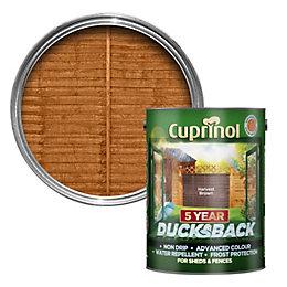 Cuprinol 5 Year Ducksback Harvest Brown Shed &