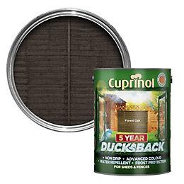 Cuprinol 5 Year Ducksback Forest Oak Shed &