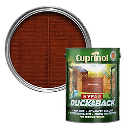 Cuprinol Rich Cedar Shed & Fence Treatment 5L