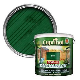 Cuprinol 5 Year Ducksback Forest Green Shed &