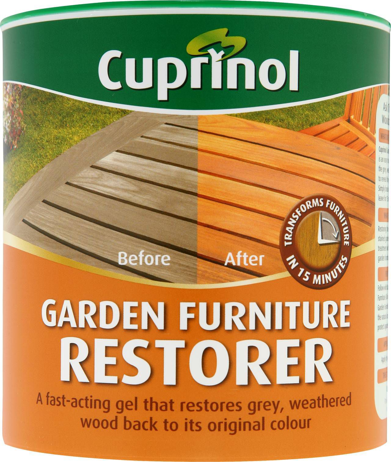 Garden Furniture Stain cuprinol clear garden furniture restorer 1l | departments | diy at b&q