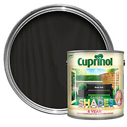 Cuprinol Garden Shades Black Ash Matt Wood Paint