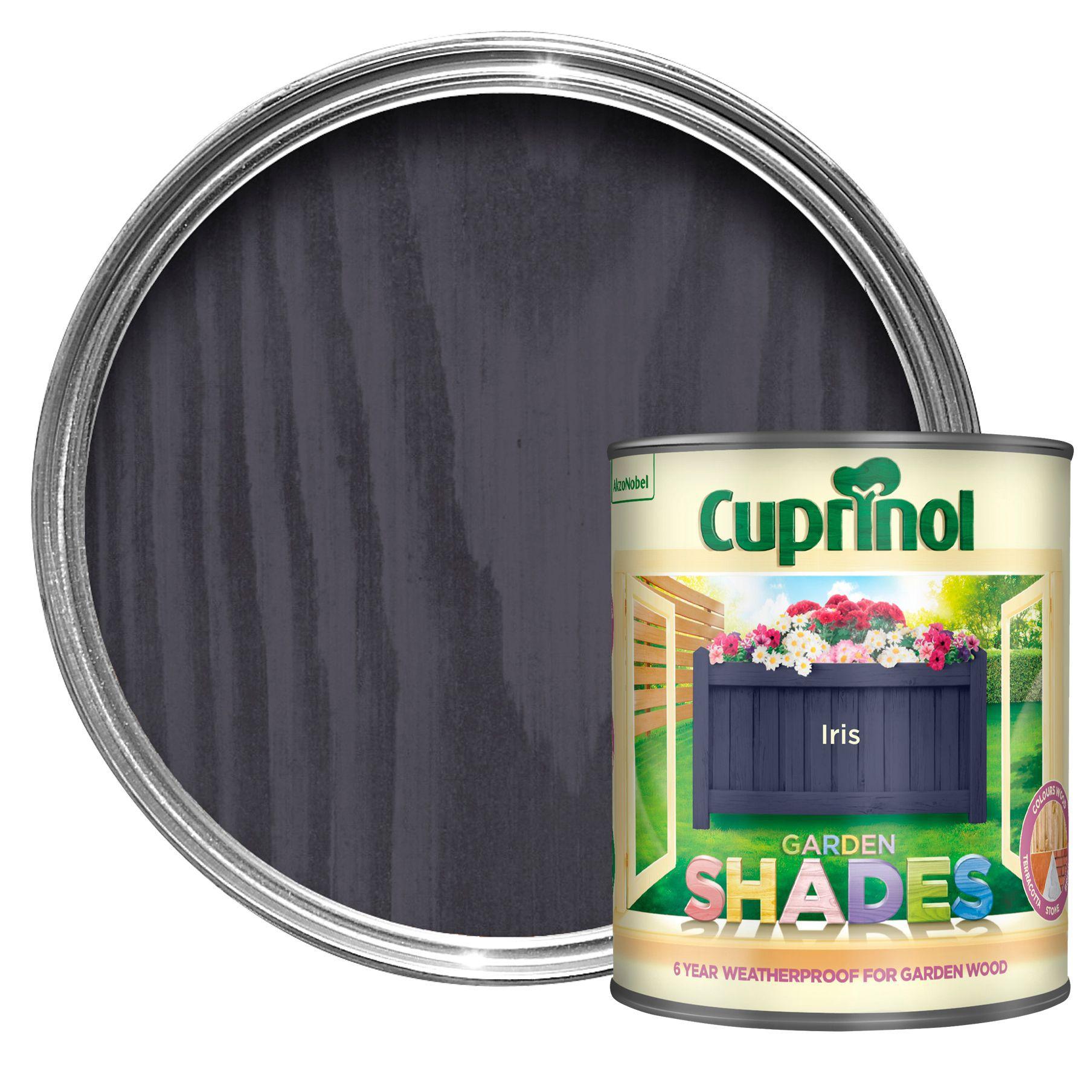 Cuprinol Garden Shades Iris Matt Wood Paint 1l Departments Diy At B Q