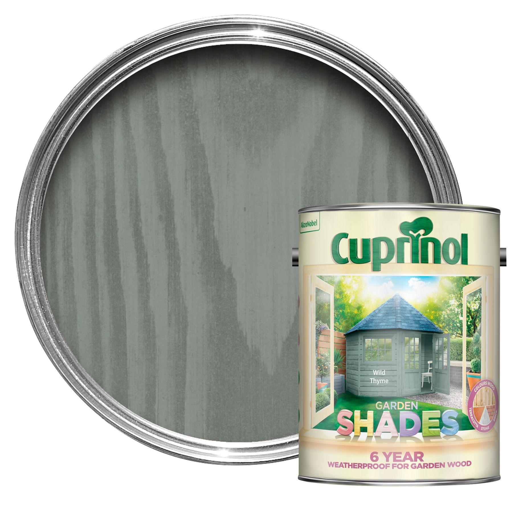 Cuprinol garden shades urban slate wood paint 2 5l departments diy at b q - Matt exterior paint image ...