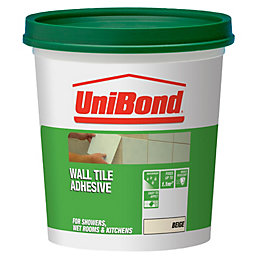 Unibond Ready Mixed Wall Tile Adhesive, Beige 1.6kg