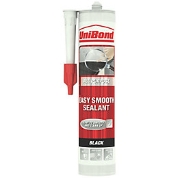 Unibond Easy Smooth Multi-Purpose Black Sealant 300 ml