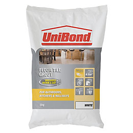 Unibond White Powder Grout (W)5kg