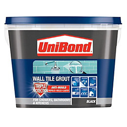 Unibond Black Ready Mixed Grout (W)1.38kg