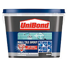 Unibond Black Ready Mixed Grout
