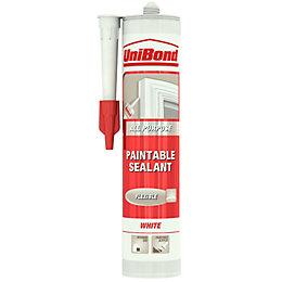 Unibond Paintable Multi-Purpose White Sealant 300 ml