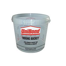 Unibond Plastic 10 L Mixing Bucket