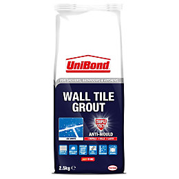 Unibond Water-Repellent & Anti-Mould Ice White Wall Tile