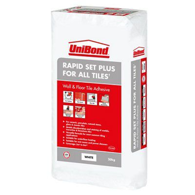 Unibond Rapid Set Powder Wall Amp Floor Tile Adhesive White
