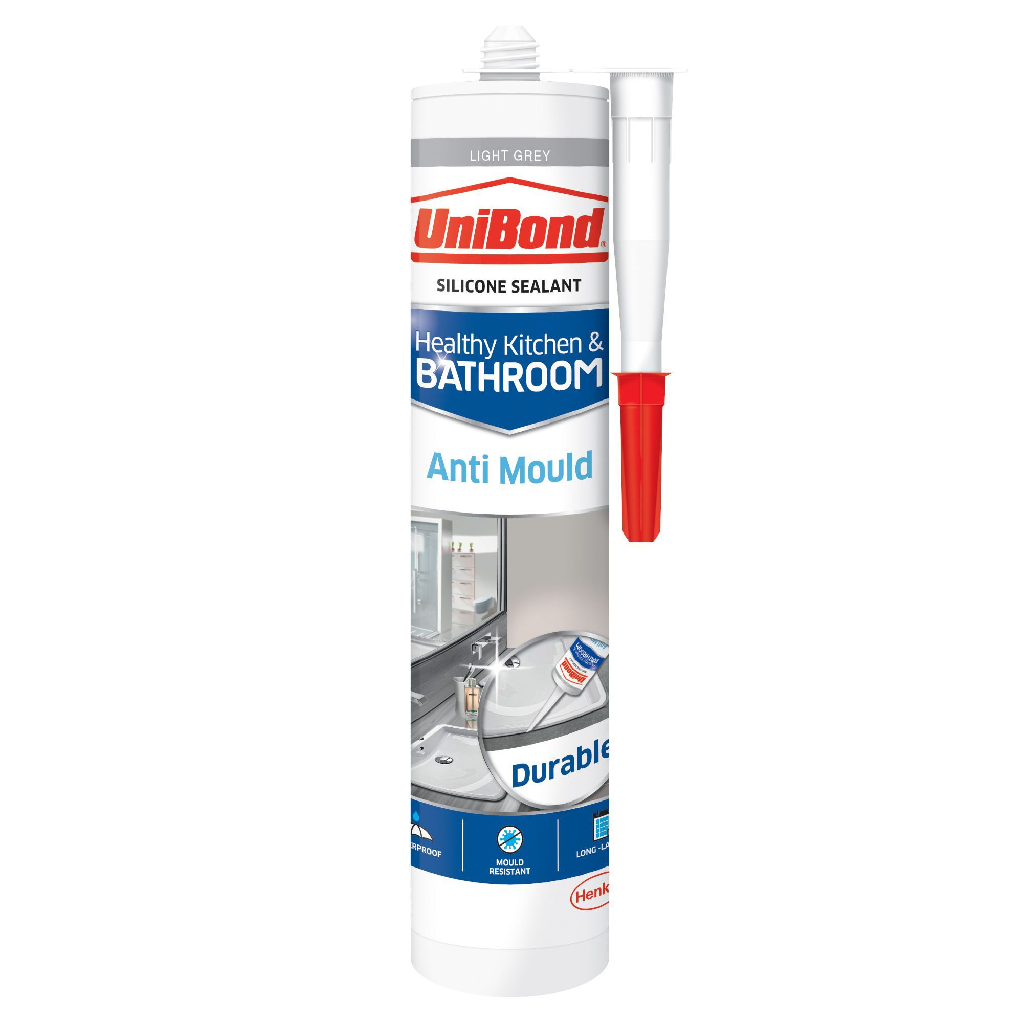 Unibond Anti Mould Light Grey Kitchen Amp Bathroom Sealant