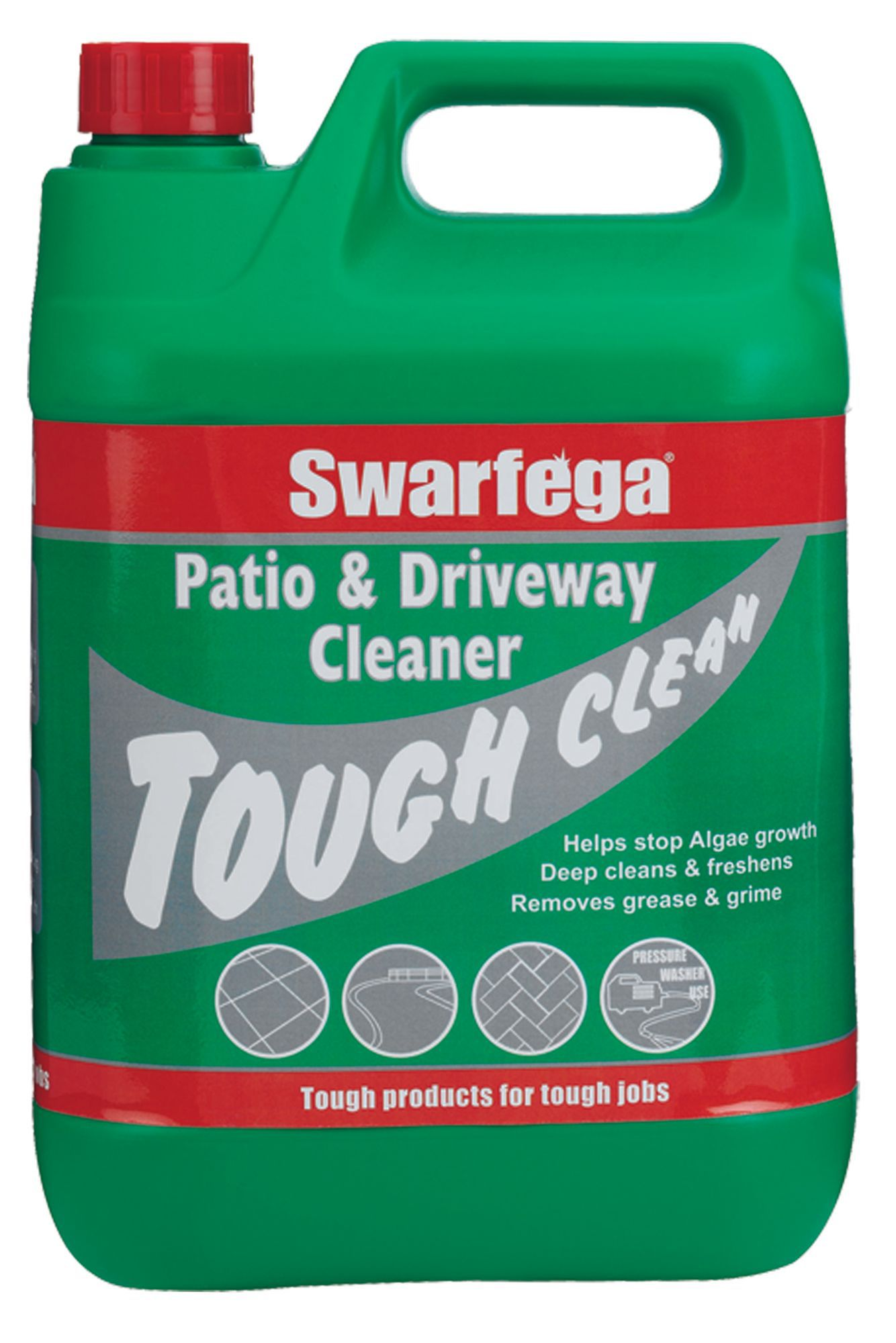 Swarfega patio driveway cleaner 5000 ml departments for Driveway cleaning chemicals