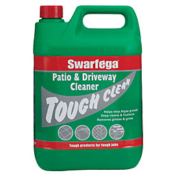 Swarfega brick masonry cleaner 5 l departments diy for Driveway cleaning chemicals