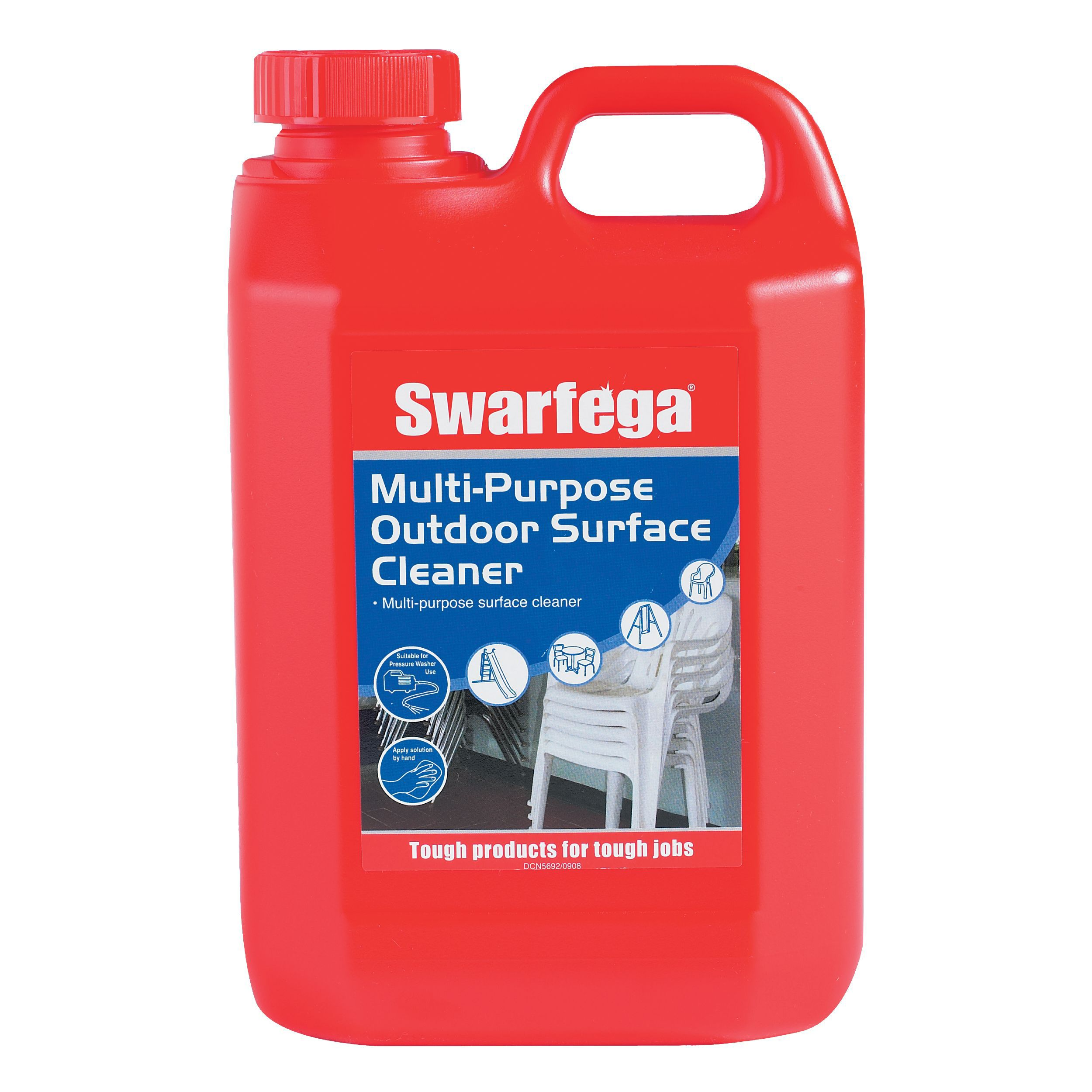 Swarfega brick masonry cleaner 5 l departments diy for Outdoor concrete cleaner