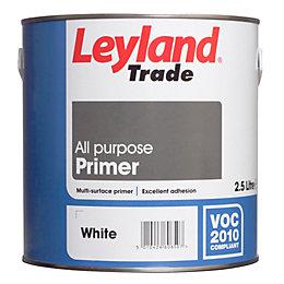 Leyland Trade White Matt Primer 2.5L Tin