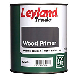 Leyland Trade Internal & External White Matt Primer