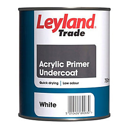 Leyland Trade White Matt Primer & Undercoat 750ml