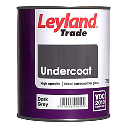 Leyland Trade Dark Grey Matt Undercoat 750ml Tin