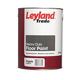Leyland Trade Heavy Duty Frigate Grey Satin Floor