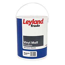 Leyland Trade Magnolia Matt Emulsion Paint 5L