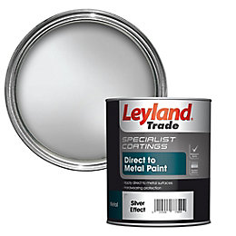 Leyland Trade Specialist Silver Effect Semi-Gloss Metal Paint