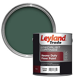 Leyland Trade Empire Green Satin Floor & Tile