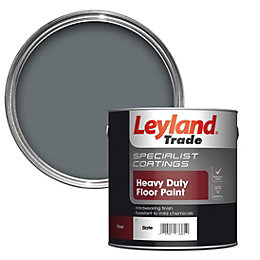 Leyland Trade Slate Satin Floor & Tile Paint