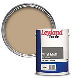 Leyland Trade Pale Beige Smooth Matt Emulsion Paint