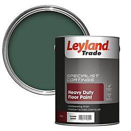 Leyland Trade Heavy Duty Empire Green Satin Floor