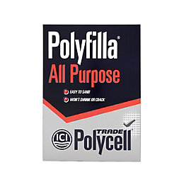 Polycell Trade All Purpose Powder Filler 2kg