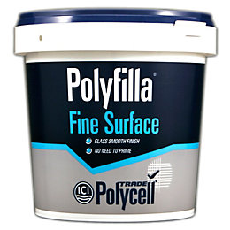 Polycell Trade Fine Surface Filler 1.75kg