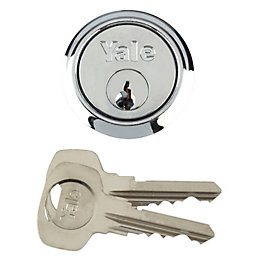 Yale Chrome Plated Rim Cylinder Lock