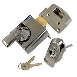 Yale 60mm Chrome Effect Night Latch P-BS1-CH-CH-60