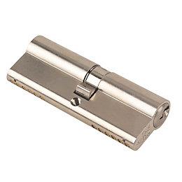 Yale 85mm Nickel Euro Cylinder Lock