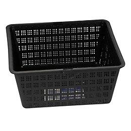 Plastic Black Pond Planting Basket (H)90mm
