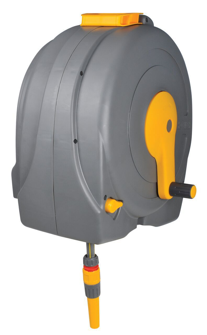Hozelock Wall Mounted Hose Reel Amp Hose L 40 M