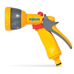 Hozelock Grey 5 Function Multispray Gun