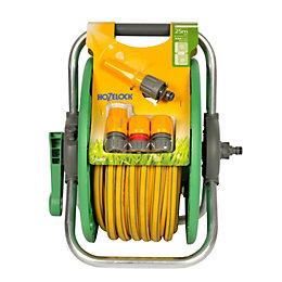 Hozelock Standard Hose Reel & Hose Cart (L)25m